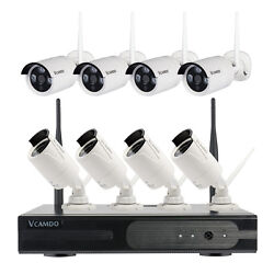 Vcamdo Outdoor Wireless Best Home Video Surveillance Systems Easy Simple Operate