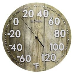 ROUND DIAL THERMOMETER 12