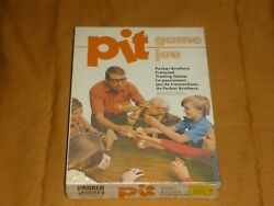 Vhtf Vintage 1964 Parker Brothers Pit Frenzied Trading Card Game New And Sealed