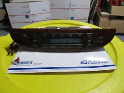 TOYOTA CAMRY XLE HEATER AND AIR CONDITIONING HVAC CONTROL PANEL HEAD TEMPERATURE