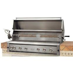 Luxor 54-Inch Built-In Propane Gas Grill With Rotisserie
