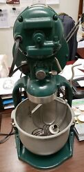 Hobart Vintage 10 Quart C210 Stand Mixer, Used Good Condition Cool Antique 1597