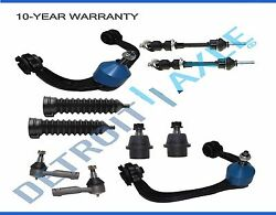 Ford F150 Mark Lt 4wd New 10pc Complete Front Upper Control Arm And Suspension Kit