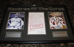 World Series Montage Reverse Of The Curse Babe Ruth And 2004 Boston Red Sox