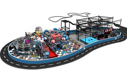 25000 sqft Commercial Indoor Playground Themed Interactive Soft Play We Finance