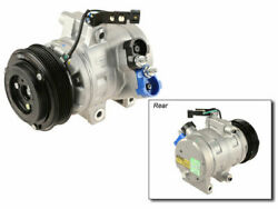 A/c Compressor For 2008-2011 Ford Focus 2010 2009 V525wq New - With Clutch
