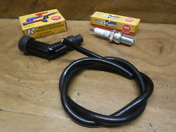 Honda Atc 125 Atc125m M New Spark Plug Cap Boot Cover And Coil Wire Tune Up Kit
