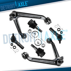 Front Upper Control Arms Ball Joints Outer Tie Rods For 2002-2005 Dodge Ram 1500