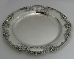Reed And Barton Francis 1 Sterling Silver Tray Platter Exceptional Workmanship