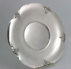 M. Fred Hirsch Sterling Silver Tray Alexandria Pattern