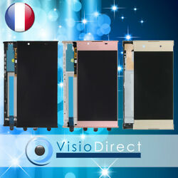 Ecran Complet Pour Sony L1/xa1/xa1 Ultra Vitre Tactile + Lcd Sur Chassis