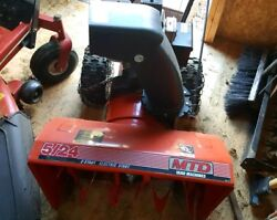 Used 2 Stage Snow Blower Mtd Electric Start 5/24