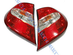 Pair Rear Bumper Lamp Turn Signal Light Tail Light For TOYOTA CAMRY 2002-2004