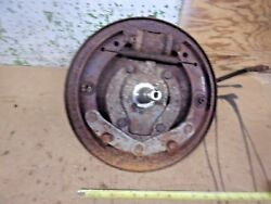 1948 Chevy Car Front Left Spindle Brake Backing Plate Steering Arm 1947 46 Oem