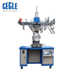 HT-B-300 Heat Transfer Printing Machine for Plastic Bucket Round Garbage Can