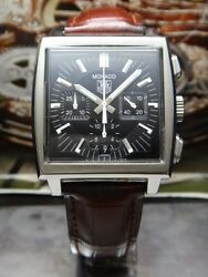 Tag Heuer Watch Service And 2 Years Warranty Refurbishment Case And Bracelet