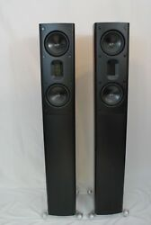 Scansonic MB-3.5 Speakers.  Raidho Designer. Awesome value & Sound Quality