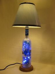 Lamp Made From A Grey Goose Vodka Bottle