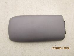 01- 02 Ford Explorer Sport Trac 4d Crew Cab Center Console And Arm Rester Lid