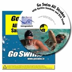 Go Swim All Strokes with Kaitlin Sandeno (DVD) (FAST SHIPPING!)