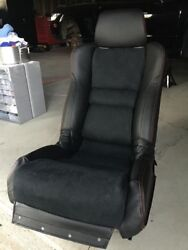 Custom Made Acura Nsx Replacement Leather Seat Covers With Alcantra Insert