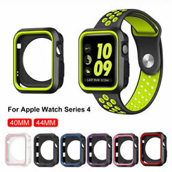 For Watch Series 4 TPU Bumper iWatch Protector Case Cover 4044mm Silicone