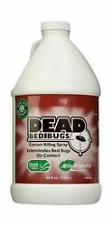 Bed Bugs Spray, Safe, All Natural-kills On Contact-dead Bed Bugs-allstop-128 Oz