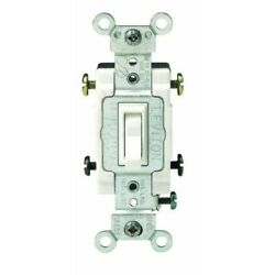 Grounded Quiet 4-way Switch,no 54504-2, Leviton Mfg Co, 3pk