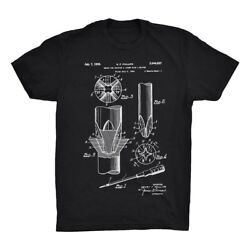 Screwdriver Patent T-shirt Mechanicand039s Gift Tee 100 Soft Cotton Comfy