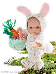Holiday Itty Bitty 5 Baby Doll Clothes Thread Crochet Patterns  Last One