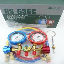 Manifold Gauge SetACTool Kit for R22 R134a Refrigeration