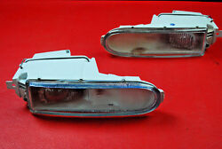 Porsche 993 911 Carrera Targa Turbo Fog Lights Driving Lamps L R