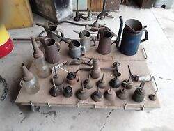 Oil Related Antique Items