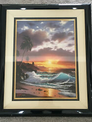Make Offer-anthony Casay And039golden Rendezvousand039- S/n Print 96/200 -framed W Glass