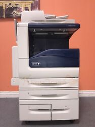 Xerox Workcentre 7855 Color Bw Printer Scanner Copier Network Mfp 55ppm Laser A3