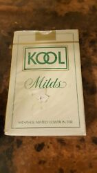 Kool Milds Menthol Misted Lower In Tar New Vintage Playing Cards.