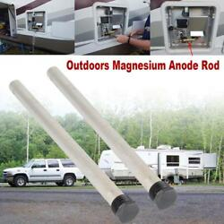 2x Water Heater Magnesium Anode Rod Replace For Suburban 232767 Rv-camper 9 1/4