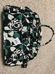 NWT! Vera Bradley Weekender Travel Bag Imperial Rose With A Largesmall Cosmetic