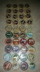 Yankee Candle Wax Potporri Tarts Huge Lot of 40 Some Discontinued