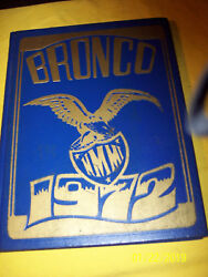 New Mexico Military Institute 1972 Annual Yearbook Bronco Nmmi Photo's History
