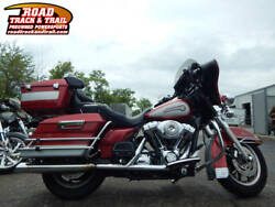 2005 FLHTCI - Electra Glide® Classic Injection -- 2005 Harley-Davidson® FLHTCI - Electra Glide® Classic Injection    Red  Silver