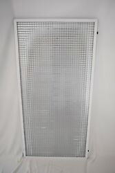 2'x4' Parabolic Eggcrate Ceiling Lens With 5/8 By 5/8 Squares Qty. 328