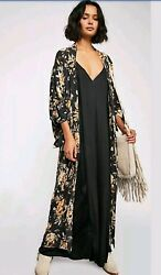 NWT Free People x Spell & the Gypsy Collective Sweet Jane Maxi Kimono Exclusive
