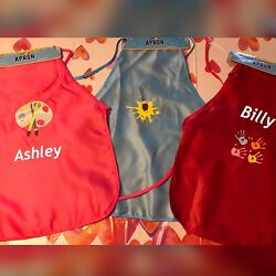 Personalized Kids Aprons $7.00