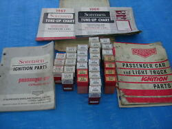 SORENSEN NOS IGNITION POINTS CONTACT SETS CONDENSERS ROTORS MANUALS