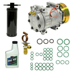 New A/c Compressor And Component Kit For Mustang Ranger Bronco Ii Escort