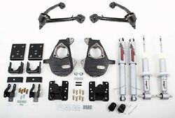 Chevrolet 1500 2014-2018 35 Deluxe Drop Kit & Upper Control Arms Fits 4WDAWD