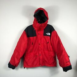 Vintage The North Face Gore Tex DOWN Jacket 3 In 1 Tri Climate Small Red Black