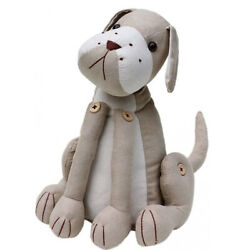 French Country Vintage Look SITTING DOG DOORSTOPPER New Door Stopper