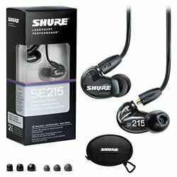Shure se 215 - k Sound Isolating Earphone with cbl - m - k Music phone Remote +